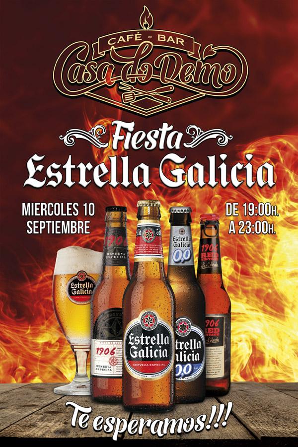 Estrella Galicia Casa do Demo