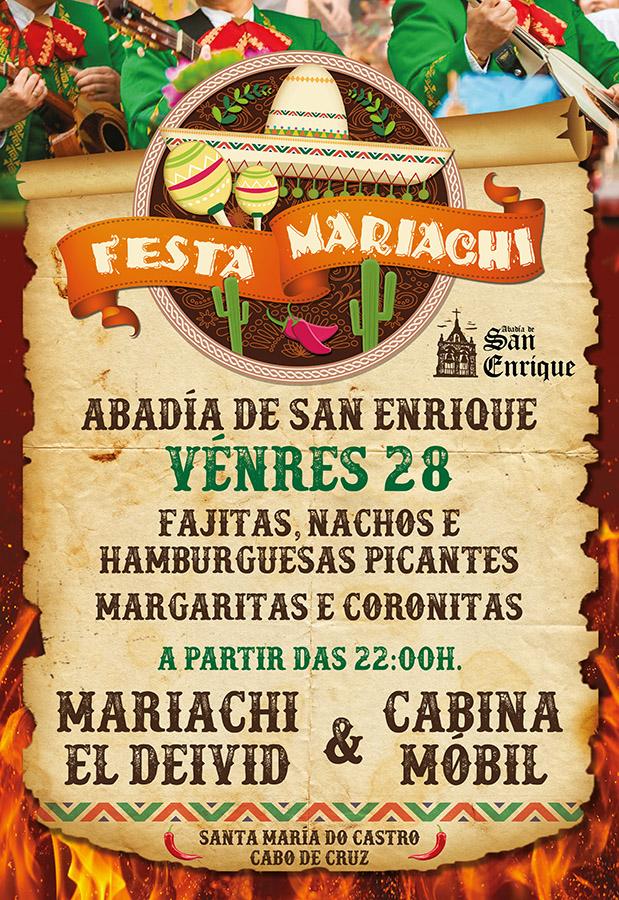 Cartel Festa Mariachi