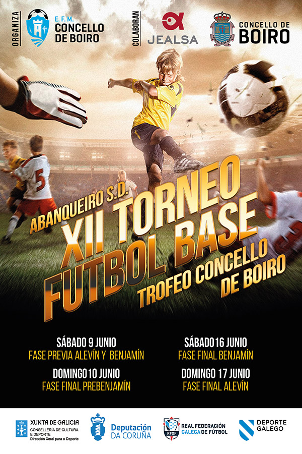 Cartel XII Torneo Futbol Base